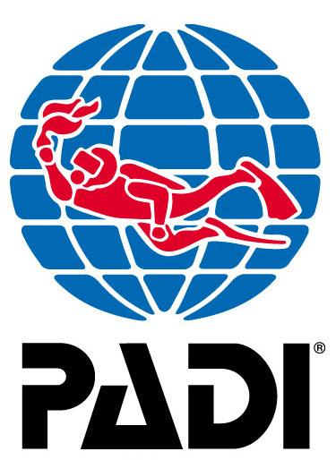 logo padi - organizacji nurkowej