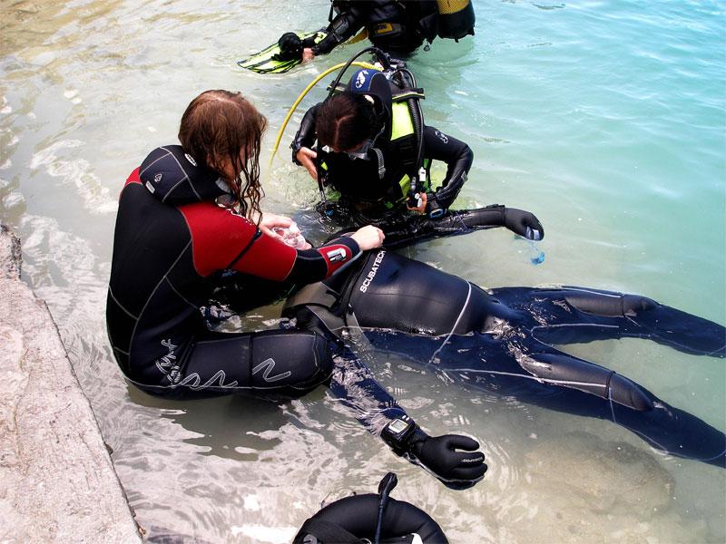 kurs nurkowania_specjalizacja_Rescue diver_aquamatic_sklep nurkowy